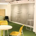panneau acoustique mural / en feutre / en polyester / haute performance