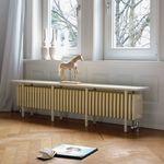 radiateur à eau chaude / en acier / contemporain / banc