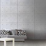 panneau de revêtement / en béton / pour meuble / pour mur