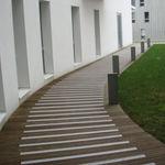 profilé en résine / en aluminium / en méthacrylate / pour marche