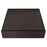 table basse contemporaine / en bouleau / en bois teinté / avec piètement en bouleau