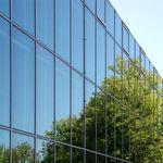panneau en verre flotté / à contrôle solaire / pour façade / pour fenêtre