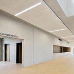 faux-plafond en bois ciment / en panneaux / en îlot / acoustique