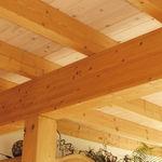 poutre préfabriquée / en bois / rectangulaire