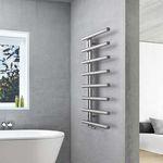 sèche-serviettes électrique / à eau chaude / en inox / en acier