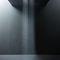 pommeau de douche encastrable au plafond / rectangulaire / pluie / cascade