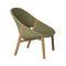 fauteuil contemporain / en Tricord® / en teck / pour établissement public