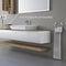 meuble vasque mural / en bois / contemporain / laqué