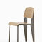 chaise contemporaine / en chêne / en noyer / en acier