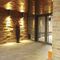 brique creuse / pour façade / pour mur intérieur / marron