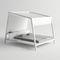 lit de jardin double / contemporain / en Textilene® / en aluminium