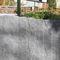 palissade de jardin / à lames / en pierre naturelle