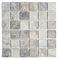 mosaïque d'intérieur / murale / en travertin / carrée
