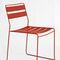 chaise contemporaine / avec accoudoirs / empilable / luge