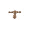 bouton de meuble classique / en fer / en bronze