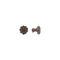 bouton de meuble classique / en métal