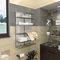 sèche-serviettes à infrarouges / en métal / contemporain / de salle de bain