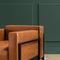 fauteuil contemporain / en tissu / en cuir / en métal