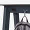 table mange-debout contemporaine / en acier à revêtement par poudre / avec piètement en métal / rectangulaire