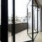 baie vitrée accordéon / en aluminium / à double vitrage / antieffraction