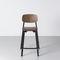 chaise de bar contemporaine / empilable / aluminium / en polypropylène