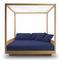 lit de jardin à baldaquin / double / contemporain / en Sunbrella®
