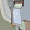 linteau isolant / en béton / armé / préfabriqué