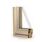 porte-fenêtre oscillo-battante / en bois / en aluminium / à double vitrage