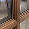 fenêtre battante / basculante / en bois / à triple vitrage