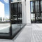 caniveau en acier / avec grille / de façade