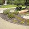 bordurette de jardin / en acier inox / courbée