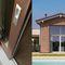 baie vitrée oscillo-coulissante / en bois / à quadruple vitrage / à coupure thermique