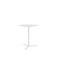 table bistrot contemporaine / en stratifié / en acier à revêtement par poudre / en céramique