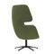 fauteuil de concentration / contemporain / en tissu / en aluminium