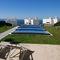 abri de piscine bas / télescopique / en aluminium / avec actionnement manuelNÉO SMARTAzenco Groupe