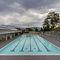 piscine enterrée / en béton / professionnelle / d'intérieur
