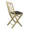 chaise classique / pliante / en bois / contract