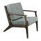 fauteuil contemporain / en bois / contract