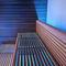 sauna finlandais / professionnel / en bois / en verre trempé