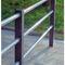 garde-corps en acier / à barreaux / d'extérieur / pour balcon