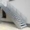 escalier droit / en métal / marche en métal / sans contremarcheJOMY