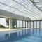 baie vitrée coulissante-empilable / en aluminium / à double vitrage / à isolation thermique