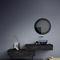 miroir mural / contemporain / rectangulaire / rond