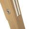 table contemporaine / en bois laqué / en chêne / en bois massif