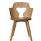 chaise contemporaine / en chêne / par Alfredo Häberli