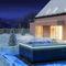 spa hors-sol / rectangulaire / 2 places / d'extérieur