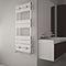 sèche-serviettes électrique / à eau chaude / en aluminium / contemporain