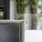 cuisine contemporaine / en bois / en pierre naturelle / en acier