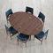 table à manger design scandinave / en chêne / en noyer / en teck