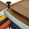 caisson de bureau en bois / en acier / à 5 tiroirs / à roulettes